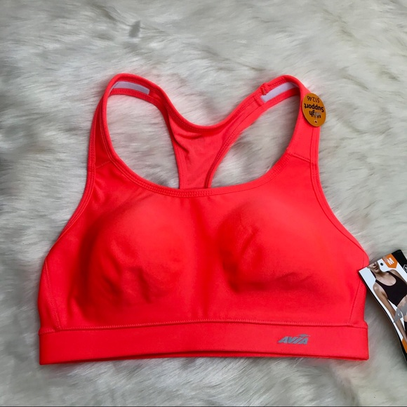 f32d261858 NEW Avia Sports Bra in Neon Orange